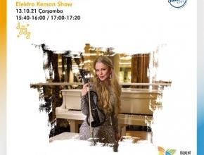 ANNA MEDVEDEVA<br>ELEKTRO KEMAN SHOW